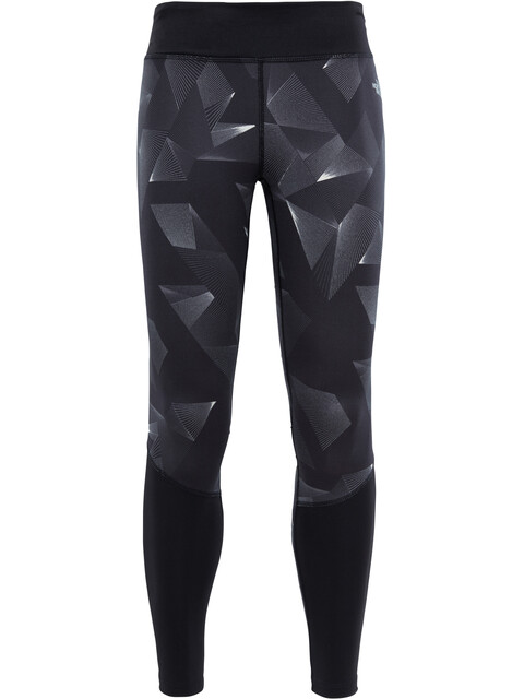 The North Face W's Pulse Tights TNF Black Space Geo Print